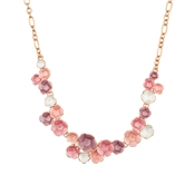 August Woods Blush Floral Bloom Necklace