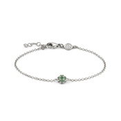 Nomination Gioie Silver & Green Clover Bracelet