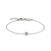 Nomination Gioie Silver & Blue Star Bracelet