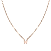 Nomination Gioie Rose Gold & Pink Butterfly Necklace