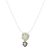 August Woods Green Floral Necklace