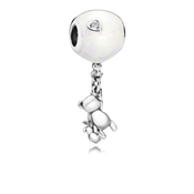 PANDORA Balloon & Teddy Charm