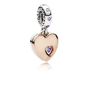 PANDORA Part of My Heart Pendant Charm