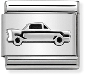 Nomination Oxidised Silver Vintage Car  Charm