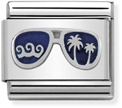Nomination Blue Miami Sunglasses Charm