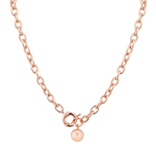 August Woods Rose Gold Linked Necklace