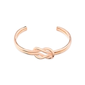 August Woods Rose Gold Knot Bangle