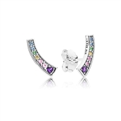 PANDORA Multi-colour Arches Stud Earrings