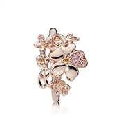 PANDORA Rose Wildflower Meadow Ring