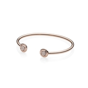 PANDORA Rose Signature Open Bangle