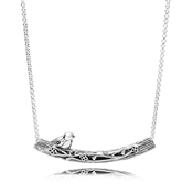 PANDORA Spring Bird Collier Necklace