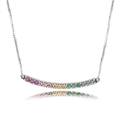 PANDORA Multi-colour Arch Necklace