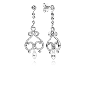 PANDORA Chandelier Droplets Drop Earrings
