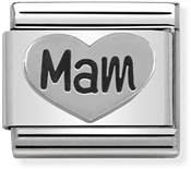 Nomination Mam Heart Charm