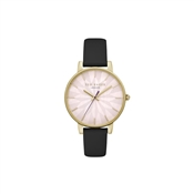 Ted Baker Ladies Kate Black Strap Watch