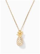 Kate Spade New York By The Pool Pave Pineapple Mini Pendant