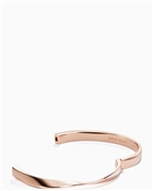 Kate Spade New York Do The Twist Hinged Rose Gold Bangle
