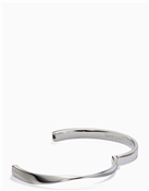 Kate Spade New York Do The Twist Hinged Silver Bangle