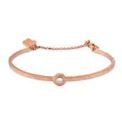 Kate Spade New York Elegant Edge Round Stone Rose Gold Bracelet