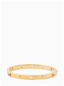 Kate Spade New York Heavy Metals Gold Grommet Bangle