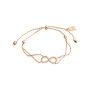 August Woods Rose Gold Open Infinity Pull Bracelet