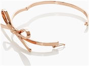 Kate Spade New York Skinny Mini Bow Rose Gold Bangle