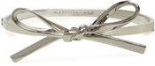 Kate Spade New York Skinny Mini Bow Silver Bangle