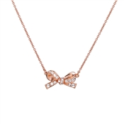 Kate Spade New York Skinny Mini Pave Bow Mini Pendant