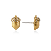 Kate Spade New York Pave Acorn Gold Stud Earrings
