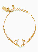 Kate Spade New York Wild Ones Pave Horseshoe Bracelet