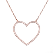 Kate Spade New York Yours Truly Pave Heart Mini Pendant