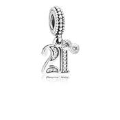 Pandora 21 Years of Love Pendant Charm