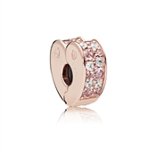PANDORA Rose Pink Mix Arcs of Love Clip