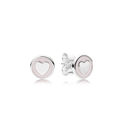 PANDORA Sweet Statements Stud Earrings