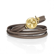 Nomination Watch with leather strap with adjustable knot