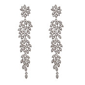 Lily & Rose Laurel Crystal Drop Earrings