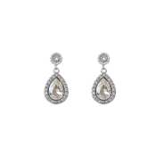 Lily & Rose Miss Amy Silver Shade Drop Earrings