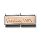 Nomination Rose Gold Grand Daughter Charm