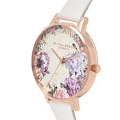 Olivia Burton Glasshouse Blush + Rose Gold Watch
