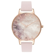 Olivia Burton Semi-Precious Watercolour Blossom Watch