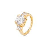 Argento Gold Royal Romance Ring
