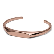 Pilgrim Rose Gold Plated ID Bangle