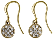 Pilgrim Classic Gold Grace Drop Earrings