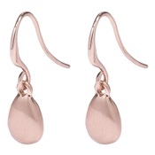 Pilgrim Lilian Rose Gold Plated Pebble Earrings
