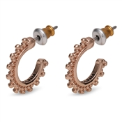 Pilgrim Rose Gold Plated Earrings