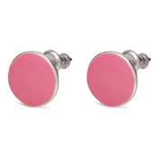 Pilgrim Pink Stud Earrings