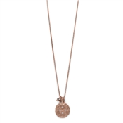Pilgrim Mya Rose Gold Plated Seal Necklace
