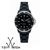 ToyWatch Oversize Fluo Black Watch