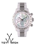 ToyWatch Heavy Metal Chrono Silver