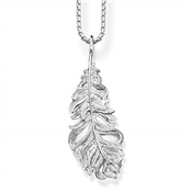 Thomas Sabo Feather Necklace
